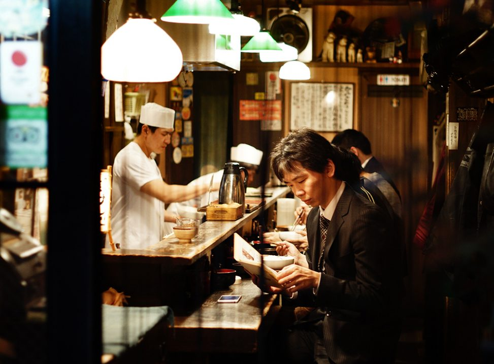A resturant in Shinjuku, Tokyo, a dream destination for food photography