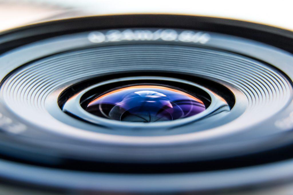 A macro shot fo a macro lens
