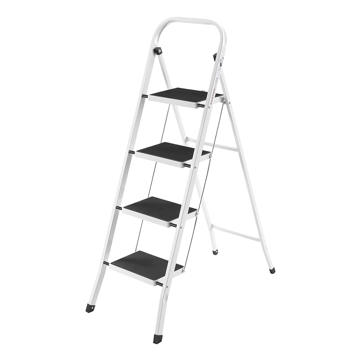 A step ladder, with 4 steps