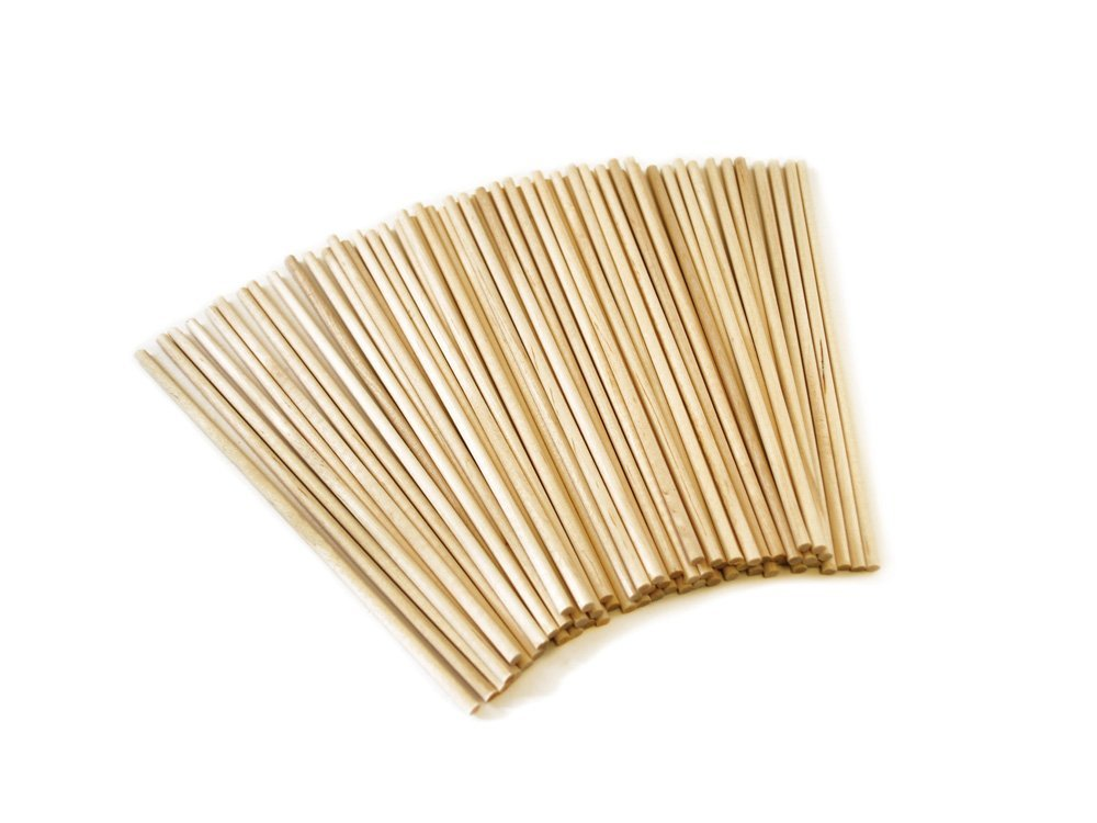 Some wooden skewers, used in food photography