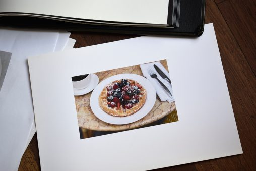 Prints for a food photography Portfolio