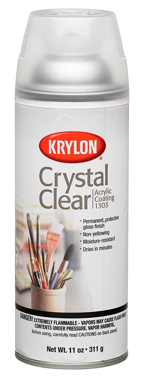 Krylon Crystal Clear spray