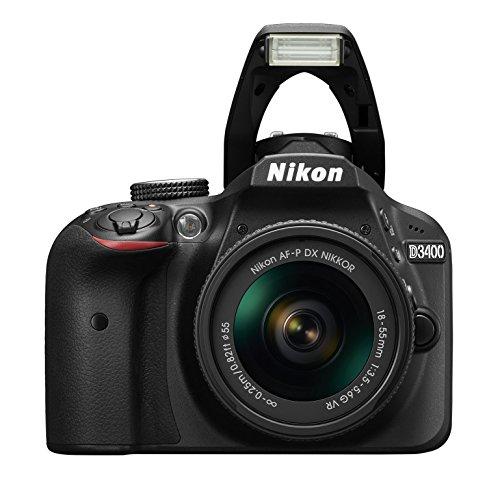 A Nikon D34000 camera