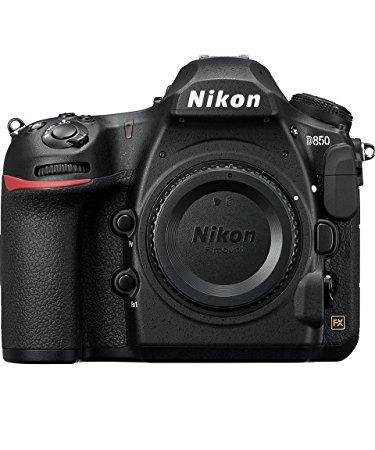 A Nikon D850 camera