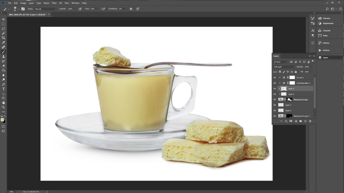 food photography editing tutorial